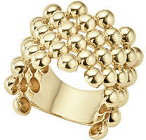 Armenta Double Crivelli Wide Band Ring, Size 6.5