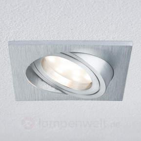 LED-Einbaulampe Coin IP23 eckig