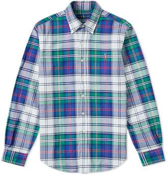 Polo Ralph Lauren Button Down Madras Check Shirt