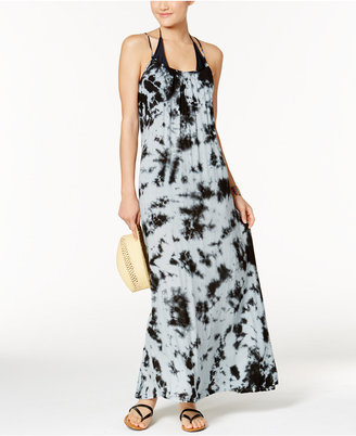 Raviya Tie-Dyed Crisscross Back Maxi Cover-Up $54 thestylecure.com