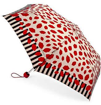 Lulu Guinness Stickers Superslim Umbrella