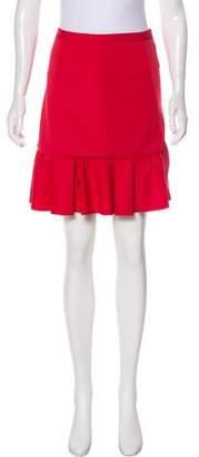 Tibi Pleated Mini Skirt