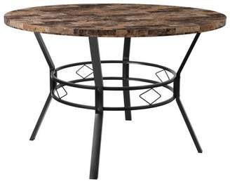 "Flash Furniture Tremont 47"" Round Dining Table in Swirled Marble-Like Finish"