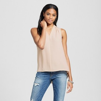 Mossimo Women's Sleeveless V-Neck Blouse - Mossimo $19.99 thestylecure.com