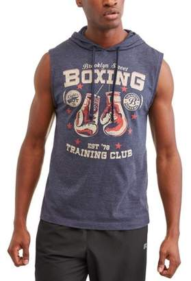 Pop Culture Big Men's Training Club Sleeveless Hoodie, 2XL