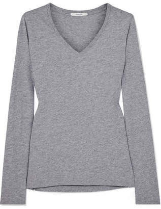 ADAM by Adam Lippes Pima Cotton Top - Gray