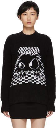 McQ Black Madchester Crewneck Sweater