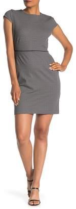 Amanda & Chelsea Geometric Cap Sleeve Dress