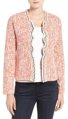 Women's Nic+Zoe Toro Tweed Jacket $198 thestylecure.com