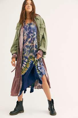 Free People Just The Thing Galaxy Maxi Dress