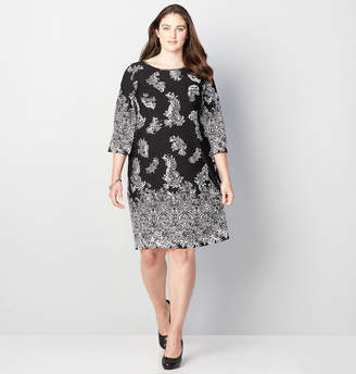 Avenue Intricate Paisley Sheath Dress