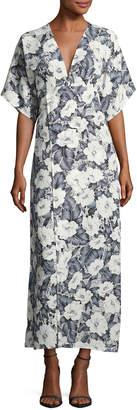 Goldie London Moon Dance Floral-Print Maxi Dress, Multi