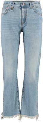 R 13 Bowie Straight Leg Jeans