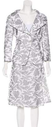 Max Mara Embroidered Skirt Suit w/ Tags