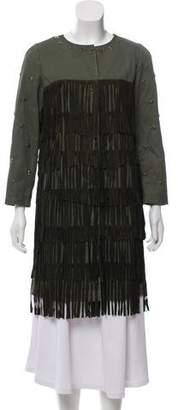 Alessandra Chamonix Nadine Military Coat w/ Tags