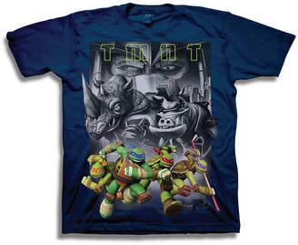 Novelty T-Shirts Boys Short Sleeve Teenage Mutant Ninja Turtles T-Shirt-Preschool