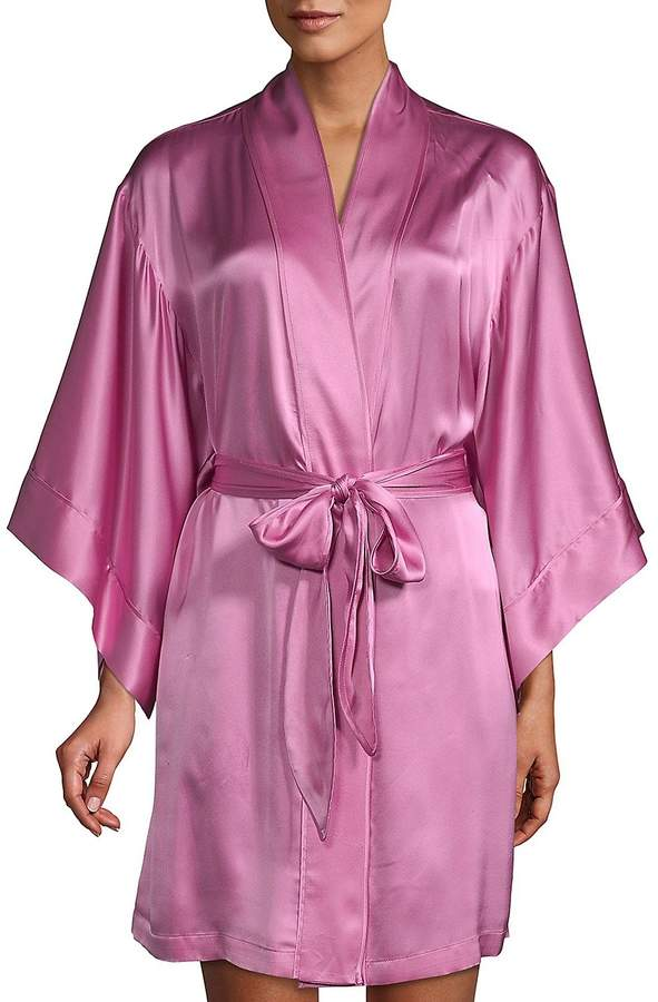 Women's Classic Silk Robe