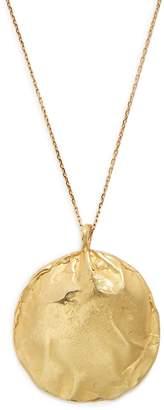 ORIT ELHANATI Stingray yellow-gold necklace