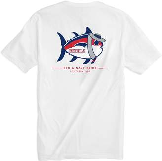 Southern Tide Mascot Skipjack T-shirt - University of Mississippi