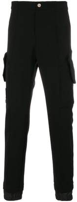 Versace piped seam detail tracksuit bottoms