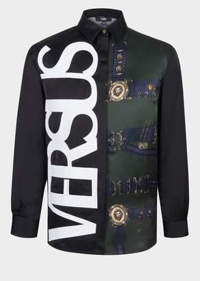 Versace Vintage Logo Heritage Belt Shirt