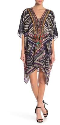 Shahida Parides Medium Printed Convertible Kaftan