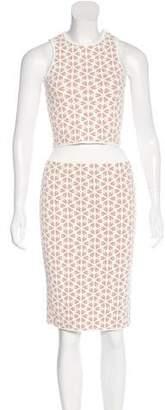Alexander McQueen Jacquard Skirt Set