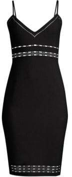 LIKELY Monica Eyelet Bodycon Dress