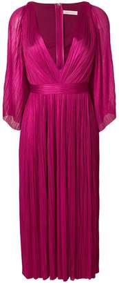 Maria Lucia Hohan Lur plunge pleated dress