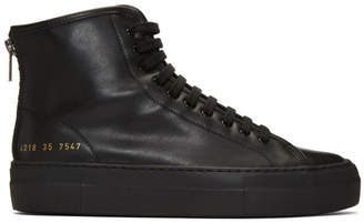 Common Projects Woman By Woman by Black Tournament High Super Sneakers