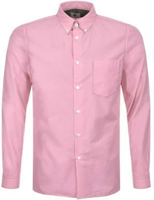 Paul Smith Long Sleeved Shirt Pink