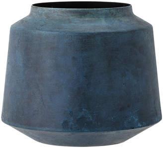 Bloomingville - Metal Vase - Blue - 15cm