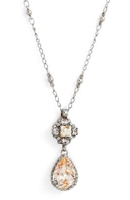 Sorrelli Posey Crystal Pendant Necklace