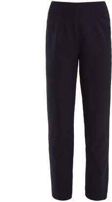 Emilia Wickstead Arabella high-rise stretch-crepe trousers