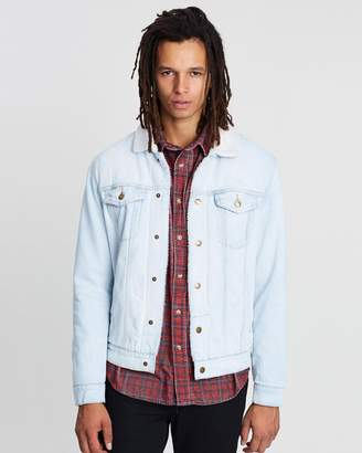 Destroy Sherpa Wanderer Denim Jacket