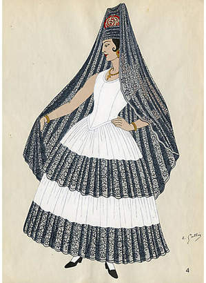 One Kings Lane Vintage Costumes of Spain - 1930 - Prints with a Past