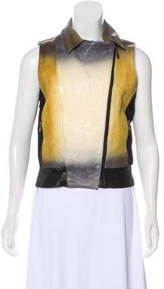 Elise Overland Zip-Up Moto Vest