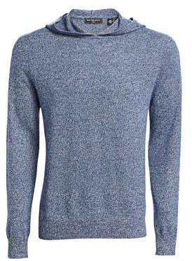 Saks Fifth Avenue MODERN Wool& Cashmere Hooded Sweater