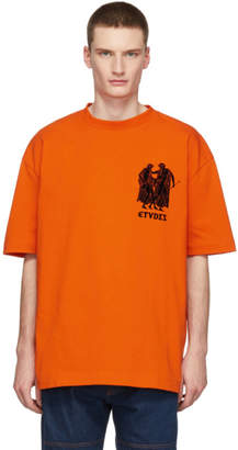 Etudes Orange Museum T-Shirt