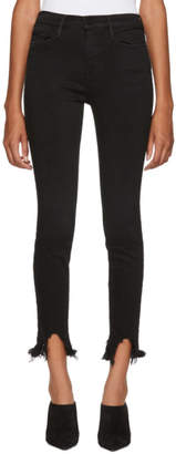 Frame Black Le High Jeans