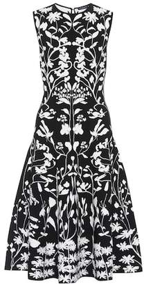 Alexander McQueen Jacquard-knit dress