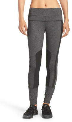 Blanc Noir Texture & Contrast Panel Leggings