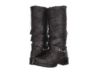 Ross & Snow Alessandra Tall Moto Boot Women's Shoes