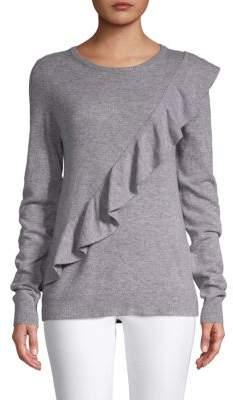 Saks Fifth Avenue Long-Sleeve Ruffled Sweater
