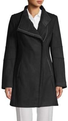 Calvin Klein Classic Full-Zip Coat
