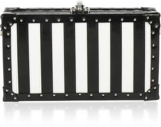 Bertoni1949 Spazzolato Stripes Box Bertoncina Bag