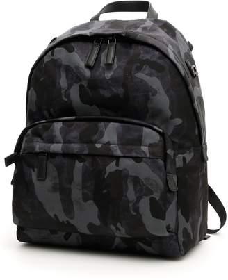 Prada Camouflage Nylon Backpack