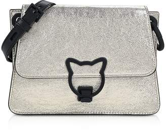 Karl Lagerfeld K/Katlock Metallic Crossbody Bag