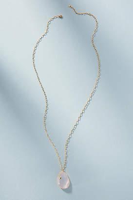 Anthropologie Polished Gemstone Pendant Necklace