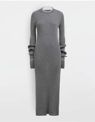 Maison Margiela Newbasic Ribs Knit Maxi Dress